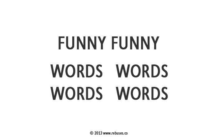 new puzzles 1 too funny for words funny funny words