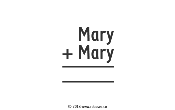 Did Mary have a little lamb or Rebus #107 | Free Rebus Puzzles Are A ...