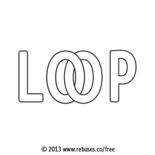 Loop Rebus #321 | Free Rebus Puzzles Are A Great Way To Start Your Day!
